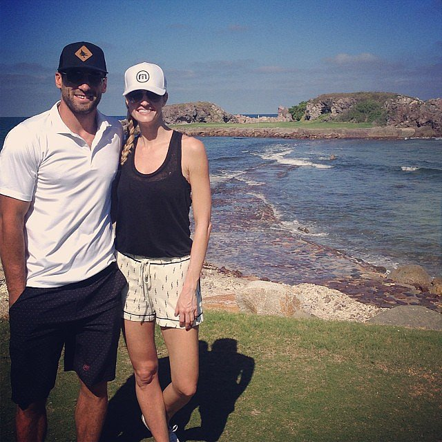 The following year, Erin's relationship with Los Angeles Kings hockey player Jarret Stoll was revealed after the two were introduced by Live With Kelly and Michael cohost Michael Strahan. The couple have since attended many public events and frequently appear together in personal snaps on her Instagram account.  Source: Instagram user erinandrews