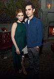 Kate Mara and her boyfriend, Max Minghella, cozied up.