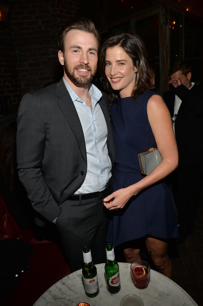 Avengers stars Cobie Smulders and Chris Evans hung out.