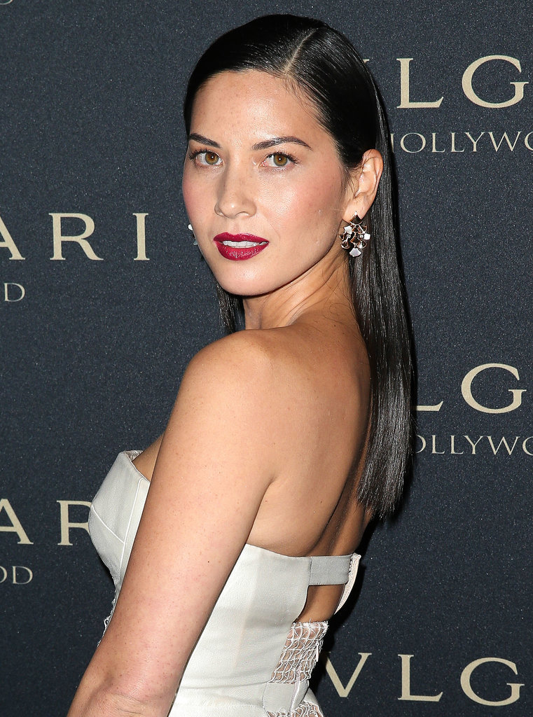 Olivia Munn at the Bulgari Decades of Glamour Oscar Party