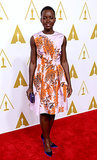 Lupita Nyong'o at the Oscars Luncheon