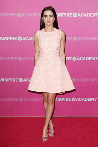 Zoey Deutch at the Vampire Academy Premiere