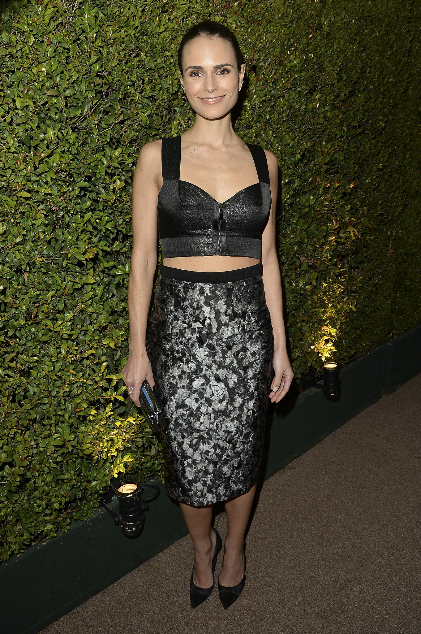 Jordana Brewster at the Bulgari Decades of Glamour Oscar Party