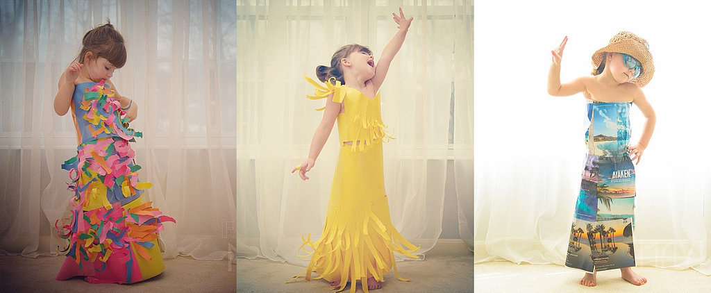 Mother and Daughter Turn Paper Into High-Fashion Dresses