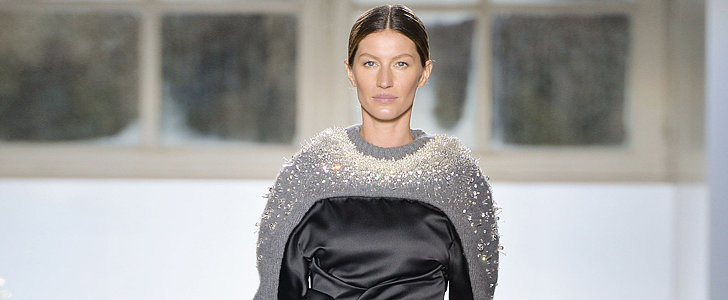 Gisele Makes Her Fashion Week Debut at Balenciaga