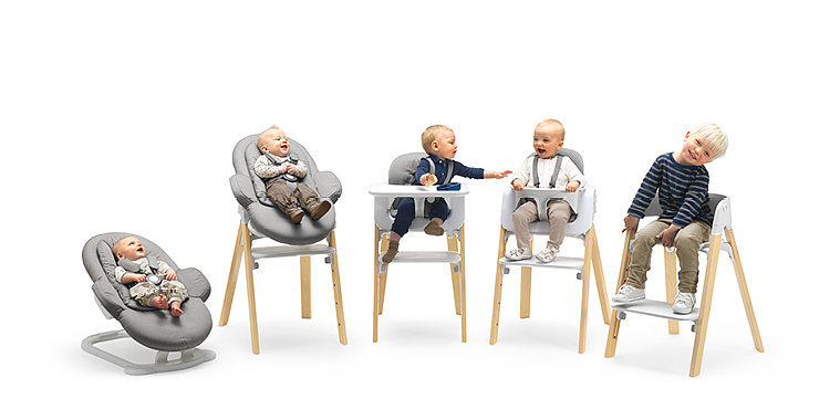 Baby-to-Big-Kid Seating System