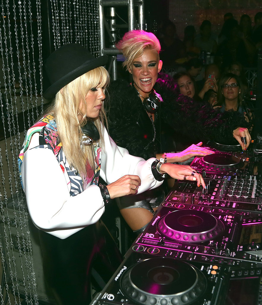 Miriam Nervo and Olivia Nervo of Nervo