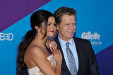 Rudderless costars Selena Gomez and William H. Macy posed together before he presented her with an award.