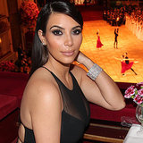 Kim Kardashian Sheer Dress at Vienna Opera Ball