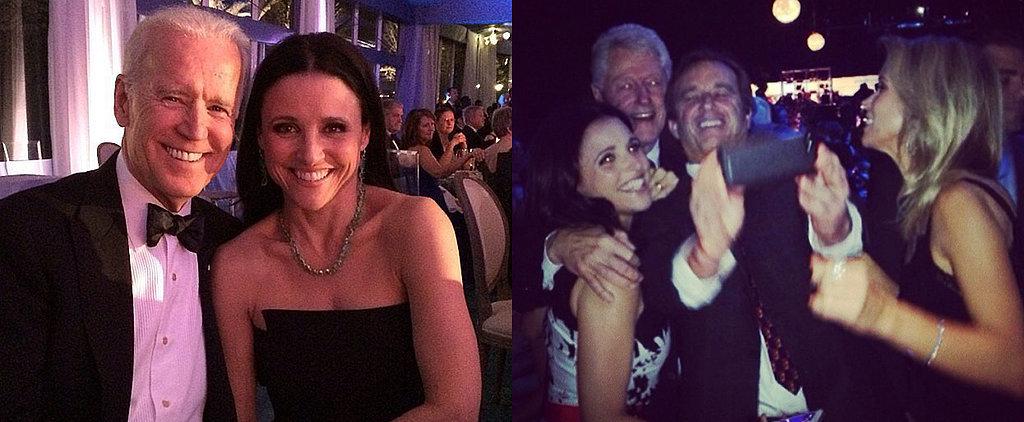 Julia Louis-Dreyfus Trades Joe Biden For Bill Clinton in Her Latest Selfie
