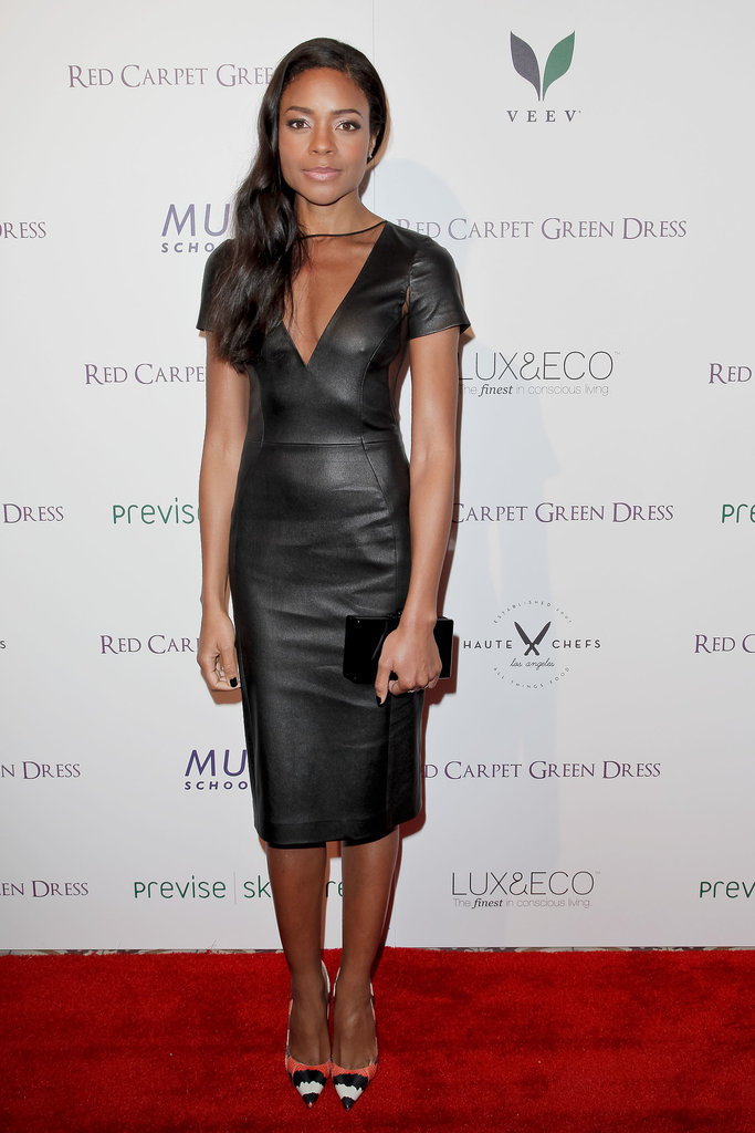 Naomie Harris at Suzy's Global Sustainable Design Campaign Cocktail Party