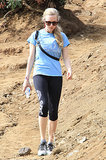 Amanda Seyfried took a hike in LA on Thursday.