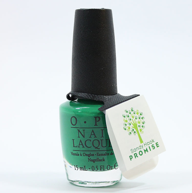 OPI's Limited-Edition Sandy Hook Green Nail Polish