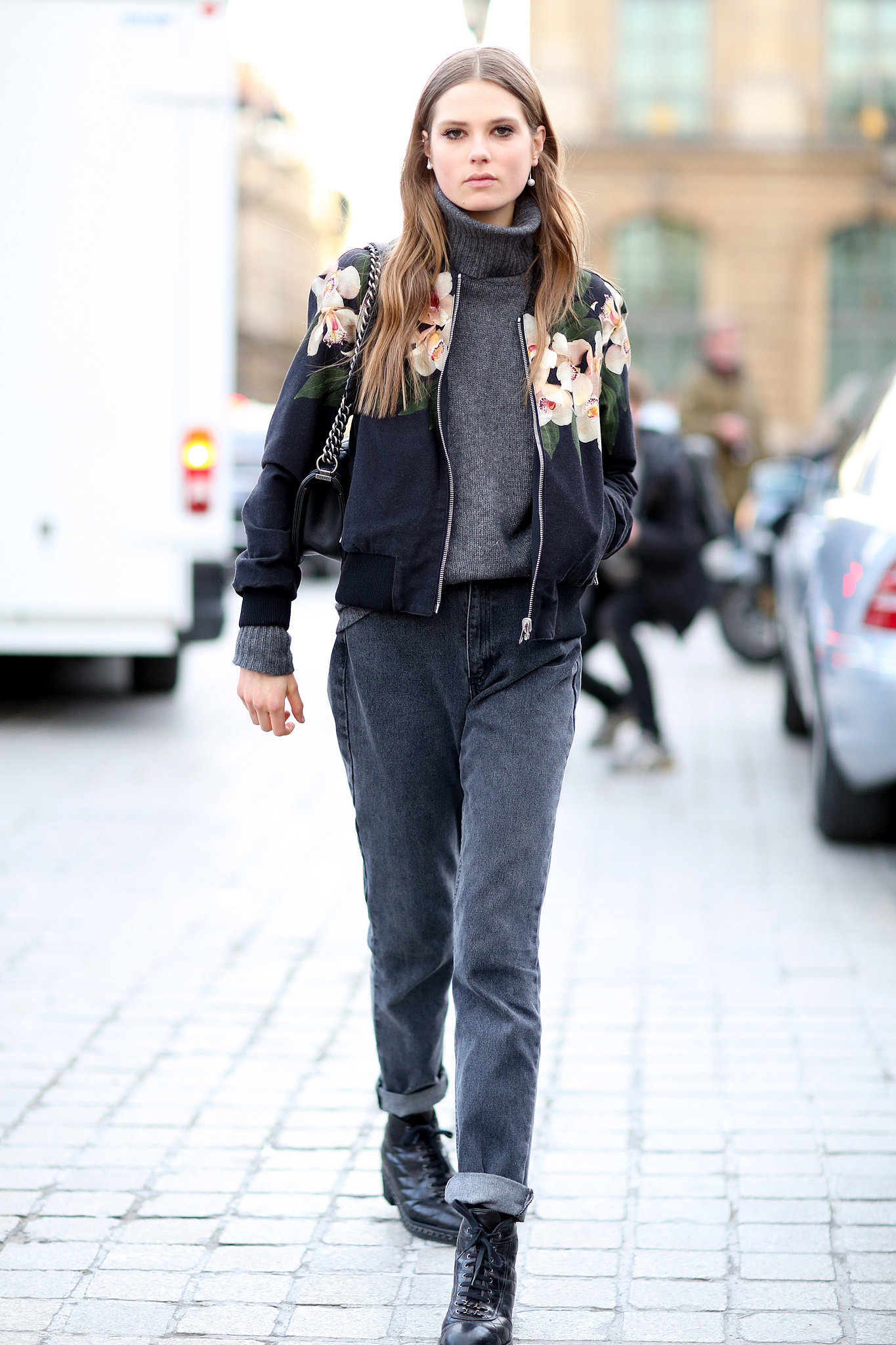 Pfw Model Street Style Day Two It 39 S A Model Takeover At Paris Fashion Week Popsugar Fashion
