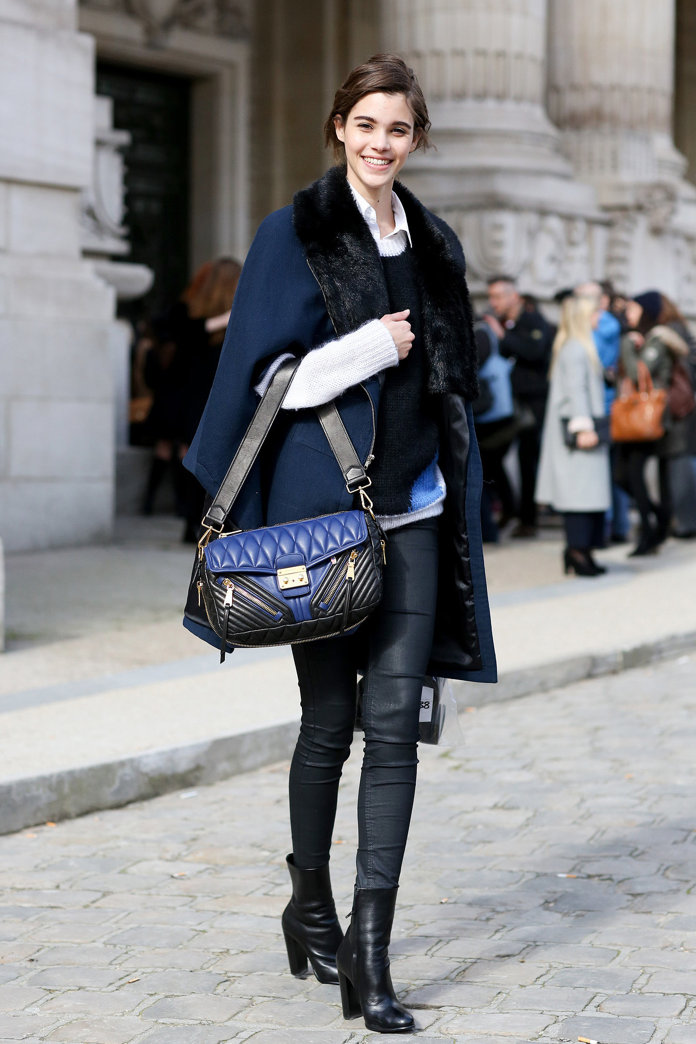 Pfw Model Street Style Day Two It 39 S A Model Takeover At