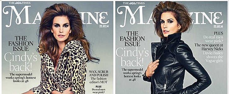 At 48, Cindy Crawford Still Looks Like She Could Be in Her 20s