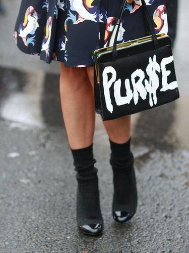 This purse is so money.  Source: Tim Regas