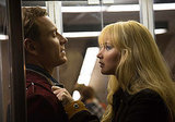 Michael Fassbender and Jennifer Lawrence