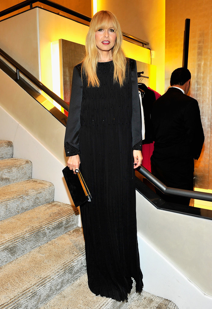 Rachel Zoe at Giorgio Armani Celebrates Martin Scorsese and Paolo Sorrentino