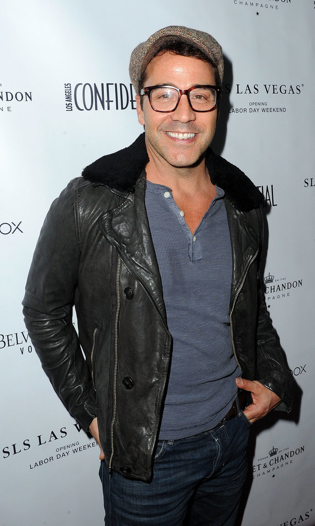 Jeremy Piven stepped out in a cap for Los Angeles Confidential magazine's party for Jared Leto on Friday.