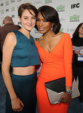Shailene hung out with Angela Bassett.