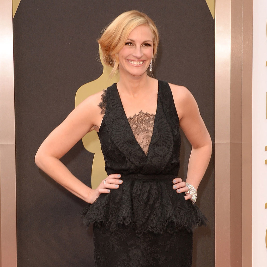 Julia Roberts Givenchy Dress at Oscars 2014