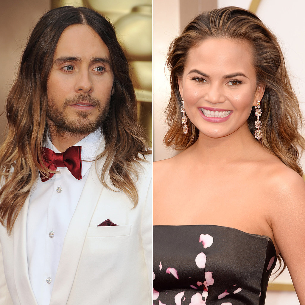 Jared Leto and Chrissy Teigen