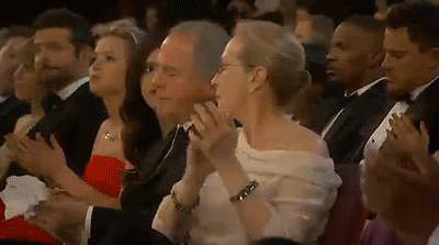 Meryl Applauded, and Jennifer Ate Pizza