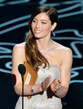 Jessica Biel Can't Stop Laughing Around Jamie Foxx