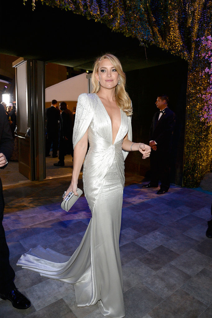 Kate Hudson made a glamorous arrival.