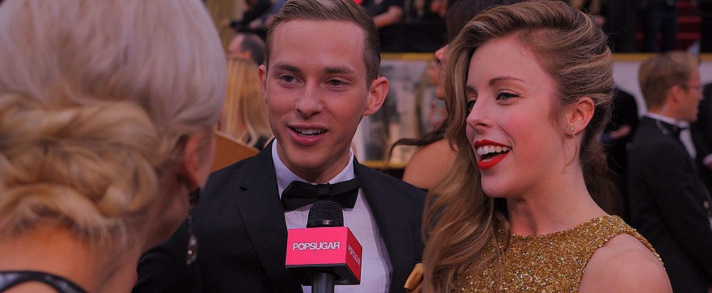 Ashley Wagner Shows Us How She'd React to an Oscars Surprise Snub
