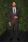 Michael B. Jordan suited up for the dinner.