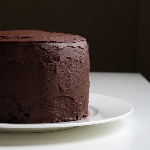 Chocolate Cake With Chocolate Buttercream