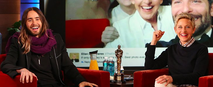 Jared Leto, Harrison Ford, and Oscars Pizza Makes For One Awesome Story