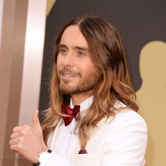 Pictures of Jared Leto at the 2014 Oscars