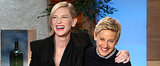 Cate Blanchett's Pretty Sad She Missed the Oscars Pizza Party