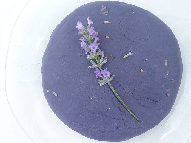 Lavender-Infused Play Dough