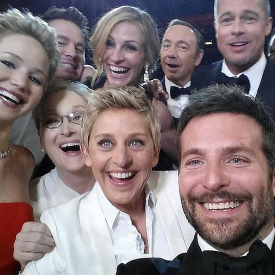 Ellen DeGeneres Star-Studded Selfie at 2014 Oscars