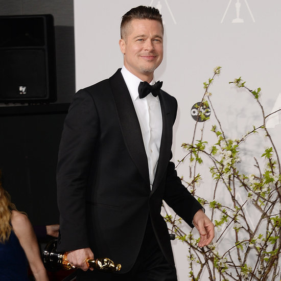 Brad Pitt in Oscars Press Room 2014