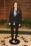 Ellen Page rocked a suit.