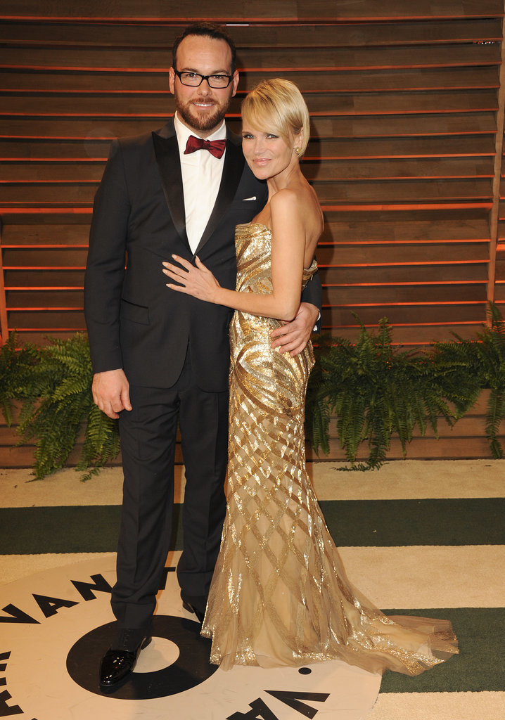 Kristin Chenoweth and her boyfriend, Dana Brunetti, posed.