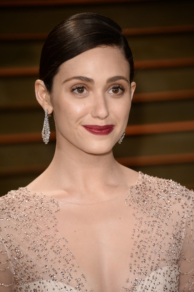 Emmy Rossum at Vanity Fair Party