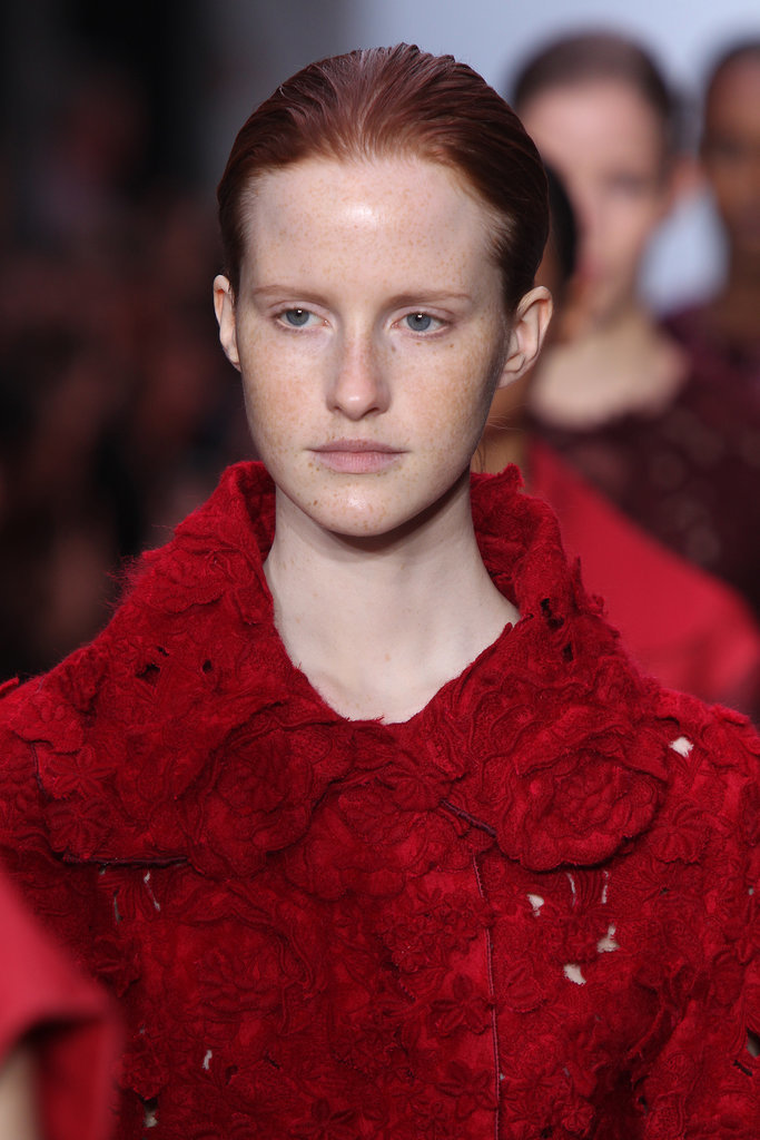 Giambattista Valli's Models Look Like They Just Got Facials
