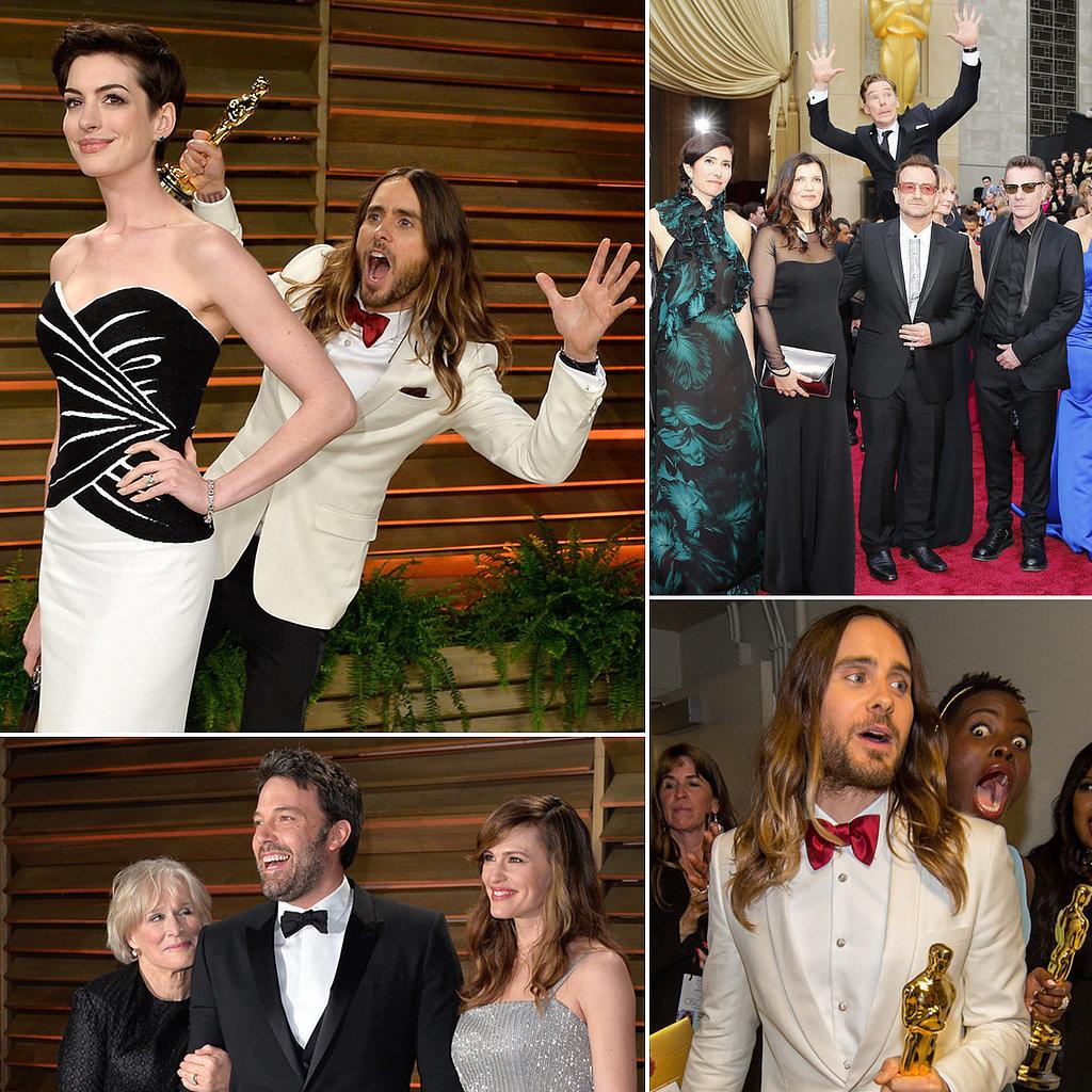 Celebrity Photobombs At The Oscars 2014
