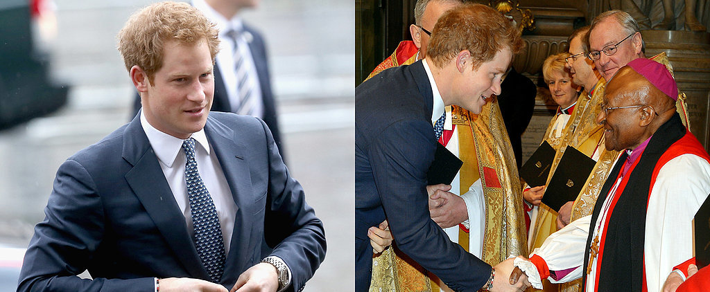 Prince Harry and Idris Elba Step Out to Honor Nelson Mandela