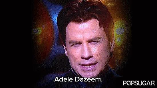 John Travolta Totally Butchers Idina Menzel's Name at the Oscars