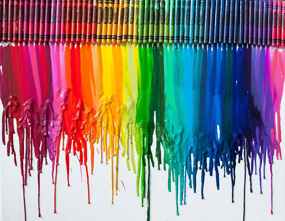 Cool Crayon Art