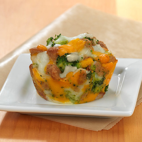 Cheesy Breakfast Muffins