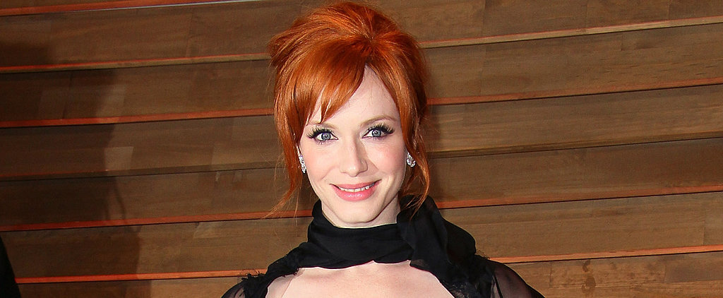 Christina Hendricks Got in on All the Oscars Fun