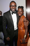 Lupita met up with Idris again at the NAACP Image Awards — check out those big grins!